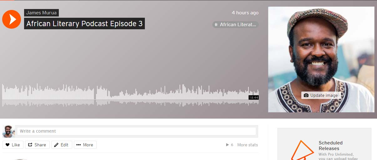 African literary podcast episode 3