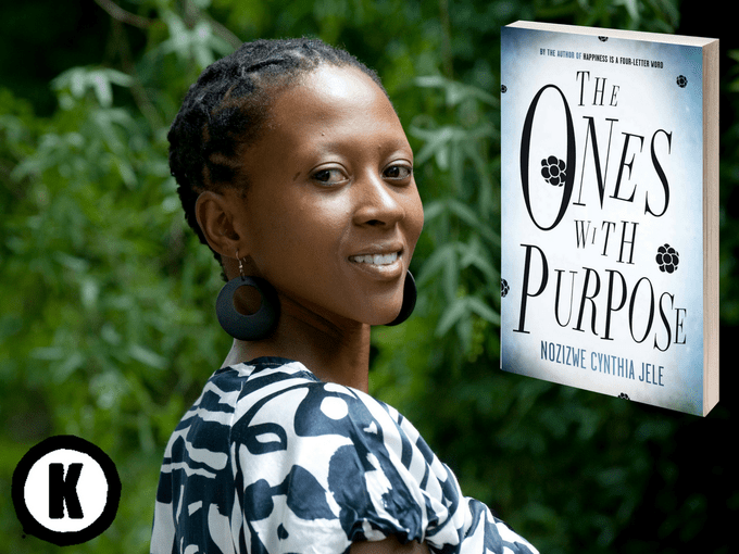 Nozizwe Cynthia Jele's new book The Ones with Purpose