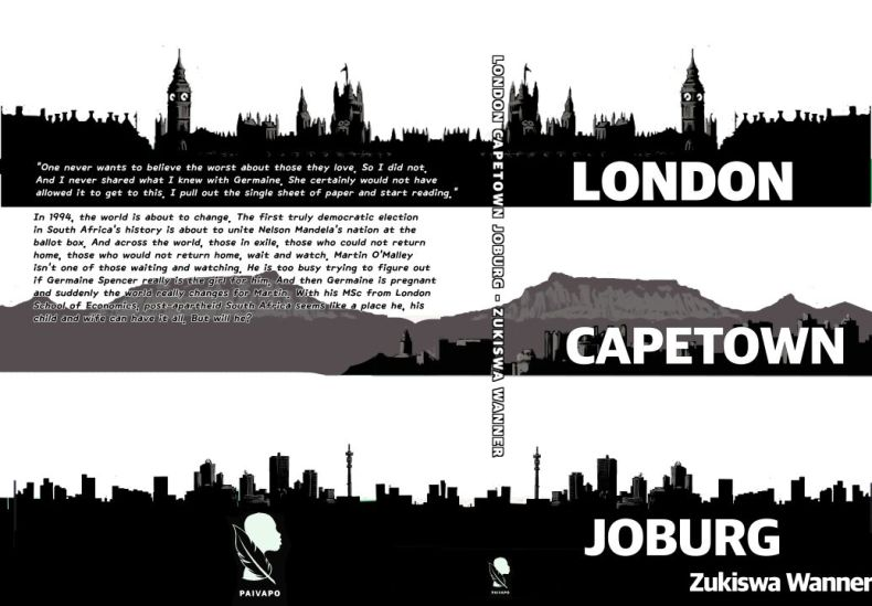 London Cape Town Joburg by Zukiswa Wanner.