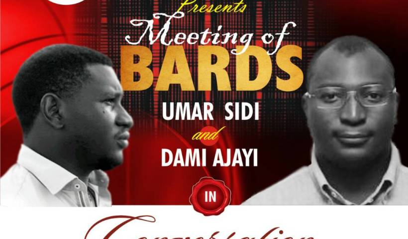 Poets Dami Ajayi and Umar Sidi meet at Konya Shamsrumi' #MeetingOfBards.