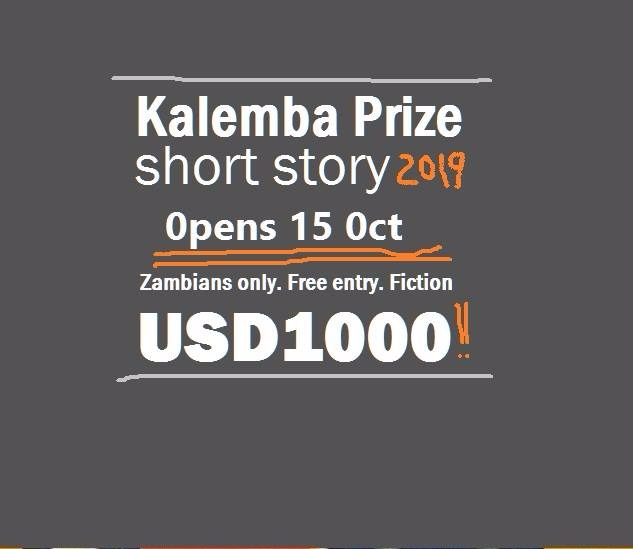 Callout: Kalemba Short Story Prize 2019 submissions (Zambia only).