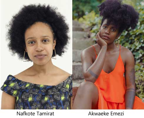Akwaeke Emezi, Nafkote Tamirat on New York Times 100 Notable Books of 2018.