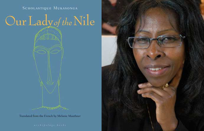 "Scholastique Mukasonga novel ""Our Lady of the Nile"" in film production."