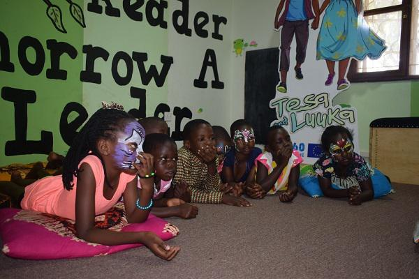 World Read Aloud Day 2019 in Uganda