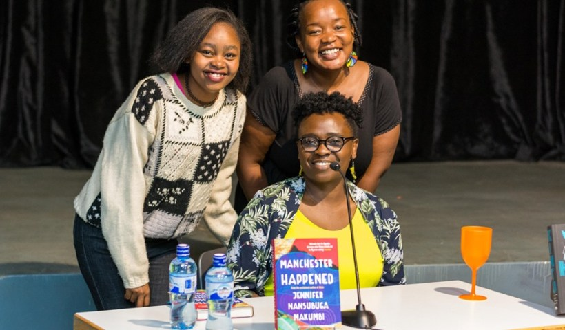 Jennifer Nansubuga Makumbi and fans