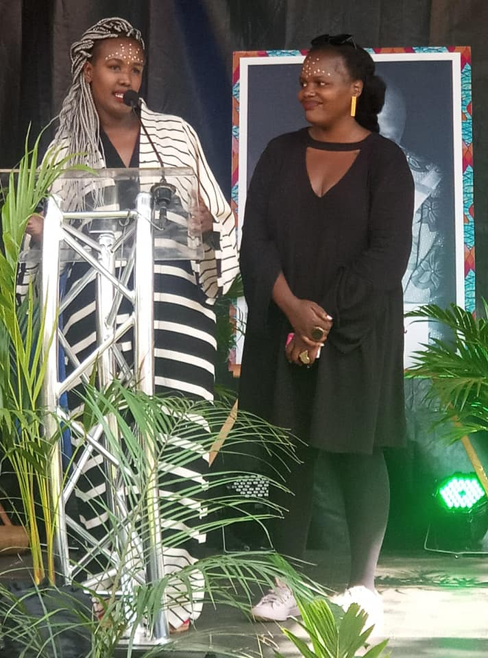 Angela Wachuka and Ciru Koinange