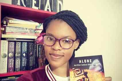 """""""Alone and other Zambian Stories"""" launches in Lusaka, Zambia."""