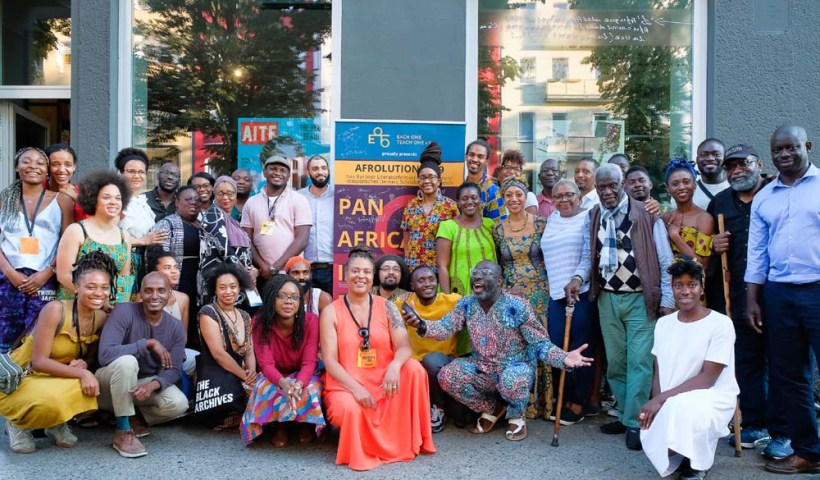 A snapshot of Afrolution 2019 in Berlin, Germany.
