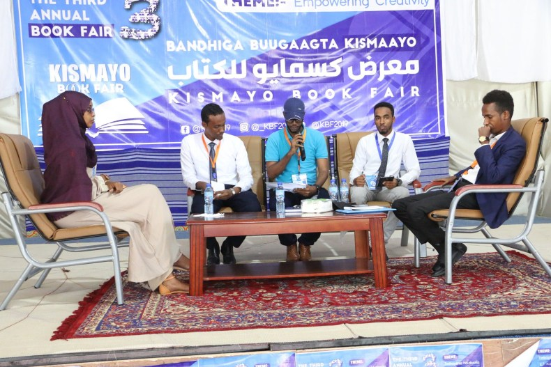 Another panel at the Kismayo Book Fair 2019
