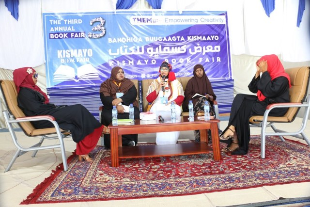 Kismayo Book Fair 2019 panel on Girl's Education and Challenges They Encounter