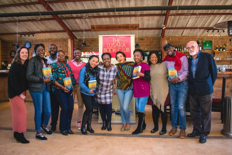Namwali Serpell with the Lusaka Book Club