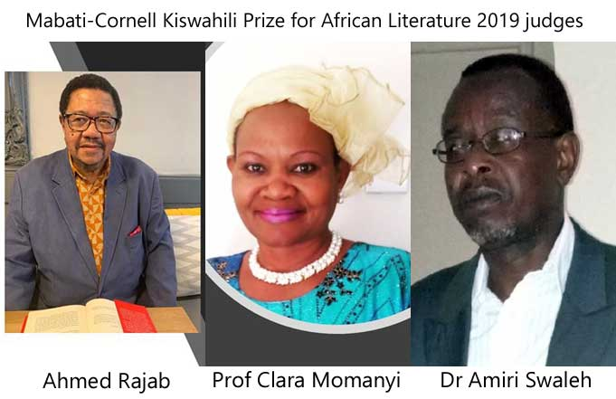 Mabati-Cornell Kiswahili Prize for African Literature 2019 judges