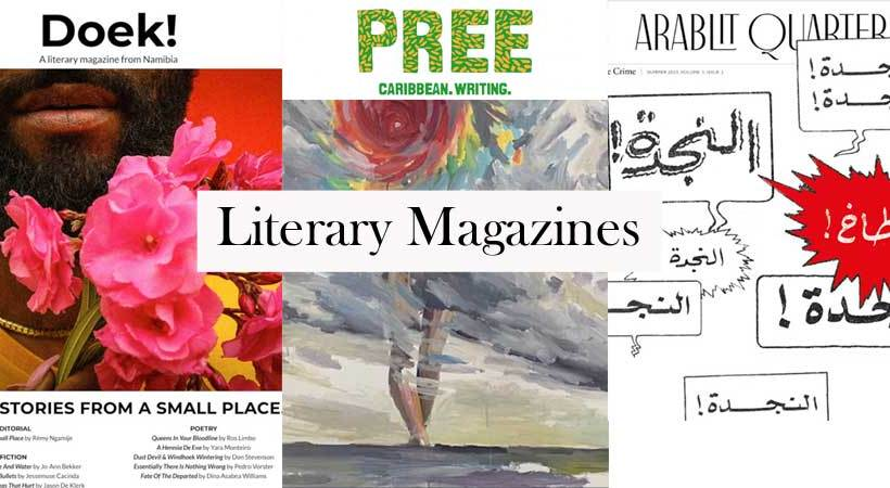 ArabLit Quarterly, Doek!, and Pree: A tale of three literary magazines.