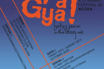 Pa Gya! A Literary Festival 2020 kicks off in Accra on October 16.