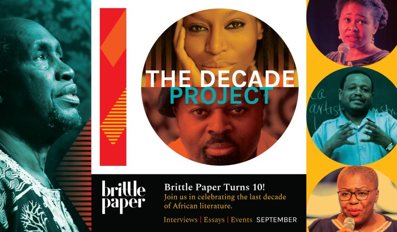 Brittle Paper decade project