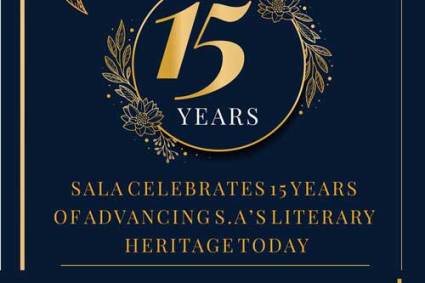 South African Literary Awards 2020 winners announced in Johannesburg.
