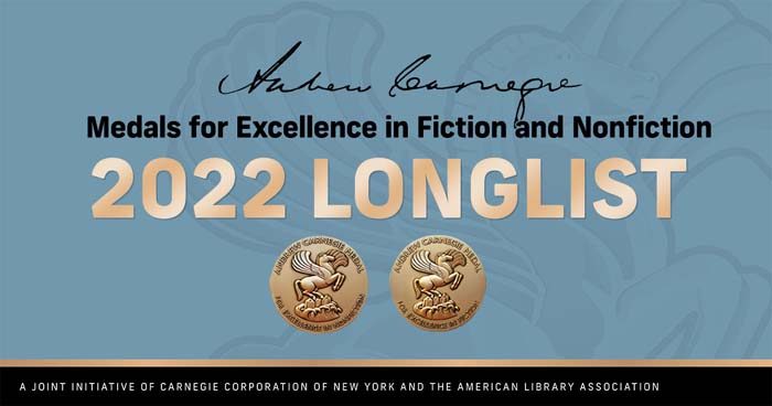 Andrew Carnegie Medals 2022 longlists.