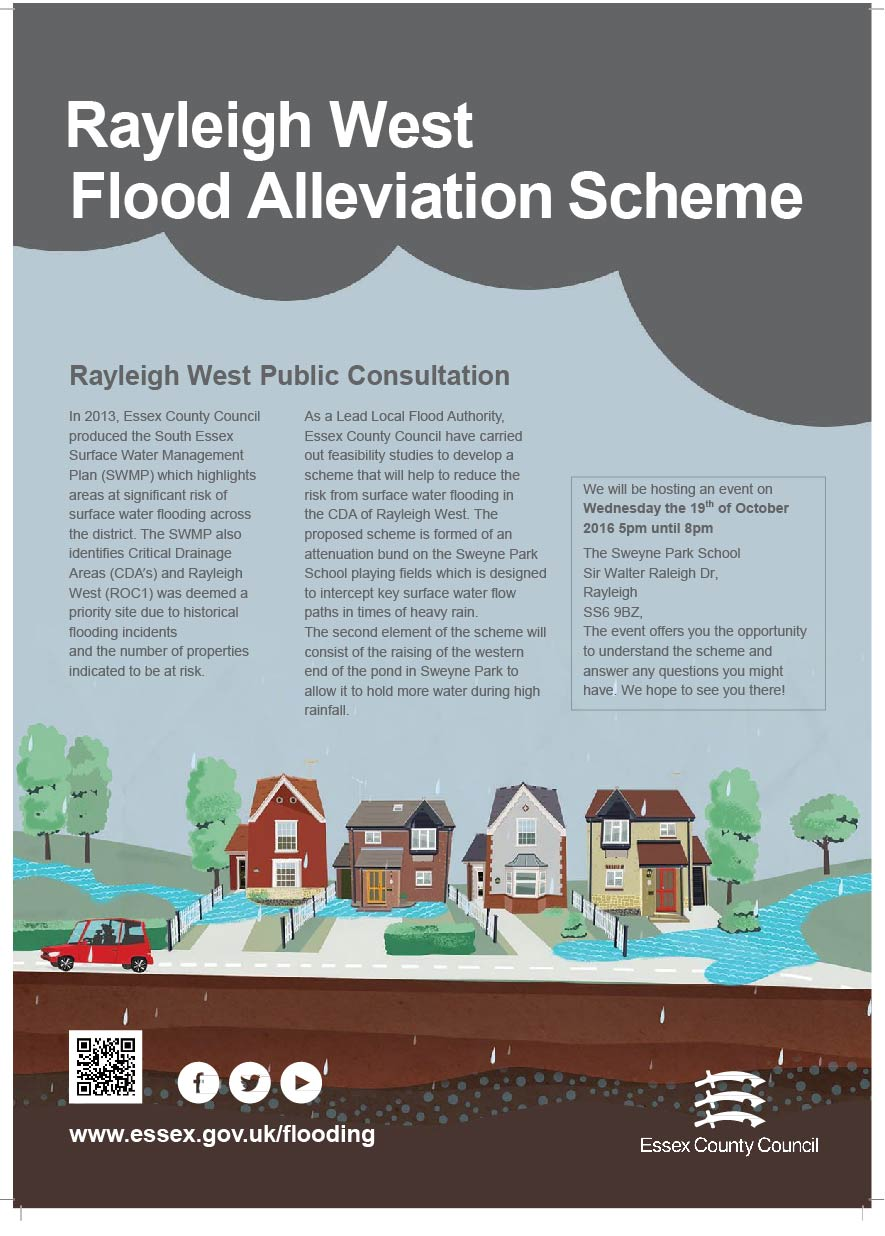 Rayleigh West Flood Alleviation Consultation