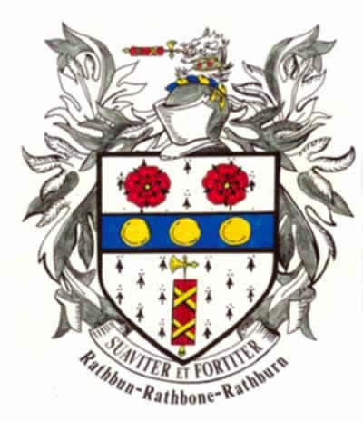 The Rathbun Family Crest - John Rathbone