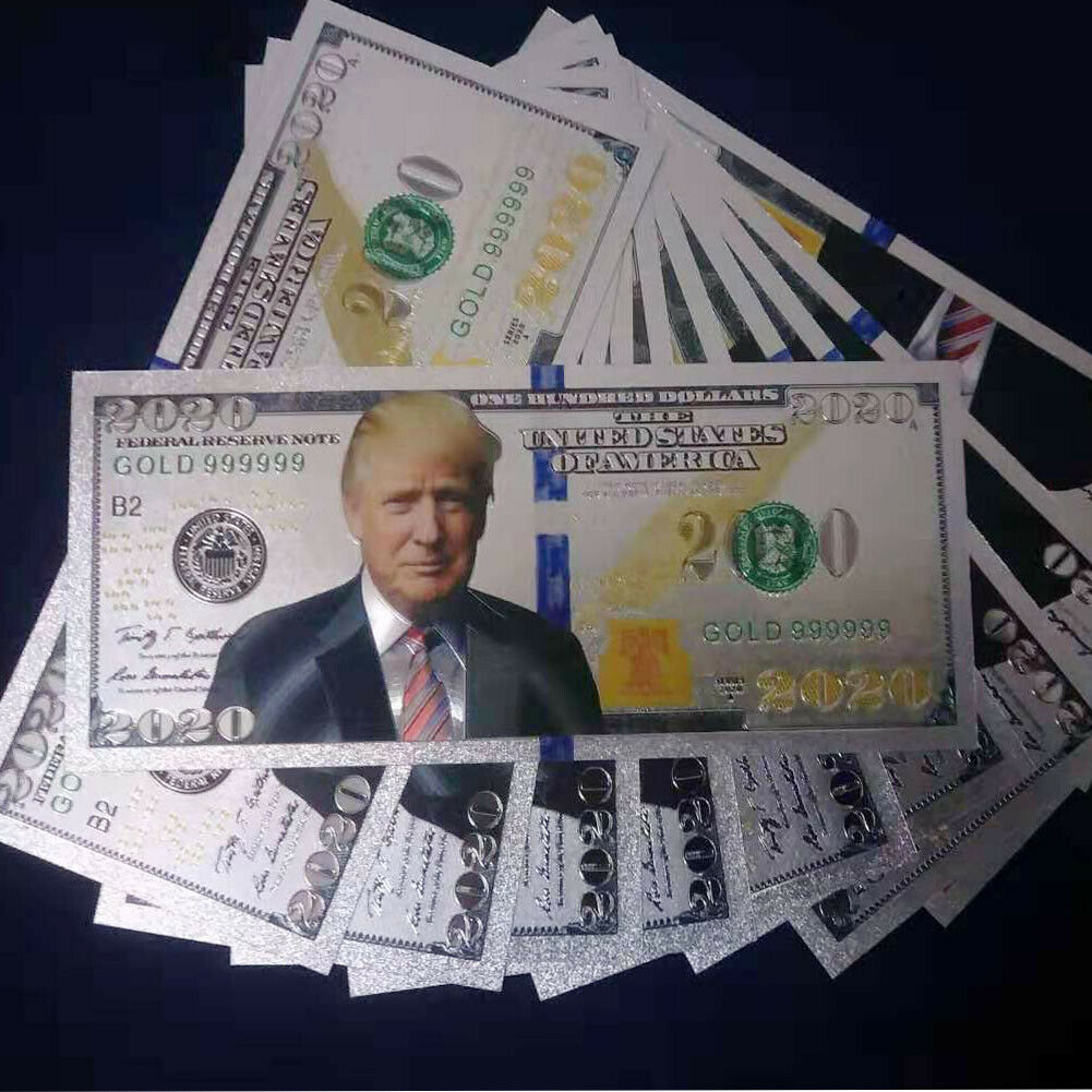 Rare! Donald Trump 2020 MAGA Novelty Bank Notes - LOOK REAL!