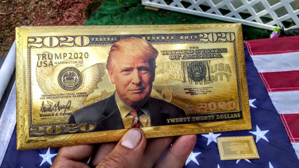 24K GOLD TRUMP FEDERAL RESERVE BANKNOTE COLLECTOR'S SERIES SET - GET THIS AWESOME NEWLY RELEASED, 10 PIECE AUTHENTIC 'PRESIDENT TRUMP' FEDERAL RESERVE BANK NOTE COLLECTION SERIES SET TODAY - I HAVE A VERY LIMITED SUPPLY! NO QUANTITY LIMITS!
