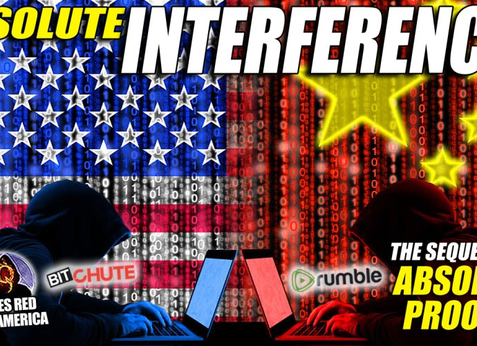 ABSOLUTE INTERFERENCE: The Sequel to 'Absolute proof', Mike Lindell's EPIC Documentary! Includes all new evidence that Foreign and domestic enemies used computers to hack the 2020 elections! Do NOT miss this LONG-AWAITED, DEVESTATING and REVEALING SEQUEL to 'Absolute Proof', Mike Lindell's EPIC account of a MASSIVE Cyber Warfare attack on the United States and the 2020 Election! Take the DEEP DIVE that reveals the DEMONIC NATURE of the Greatest Attack on America since the World Wars! Check out FrankSpeech.com (Mike Lindell's new Free Speech Platform) and sign up for a free account! You will NOT want to miss this DEVESTATING DOCUMENTARY!
