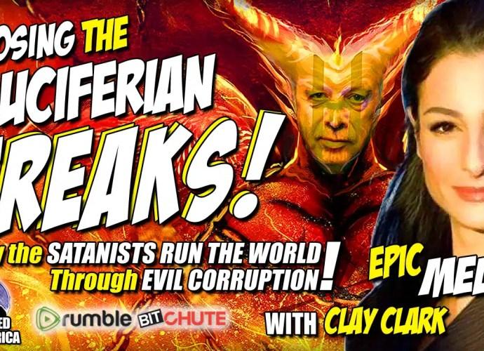 Mel K EXPOSES LUCIFERIAN Pope, Vatican, Oprah, Epstein, Disney & More! EXPLOSIVE Video w/ Clay Clark