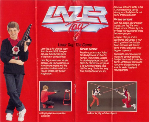 Lazer Tag Manual - Page 3