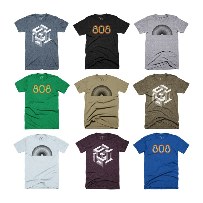 T-shirts available from Cotton Bureau
