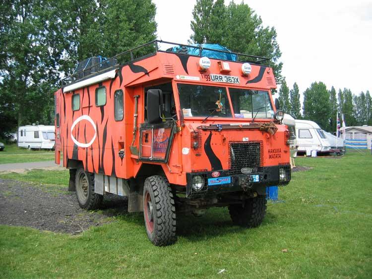Land Rover 101 Camper