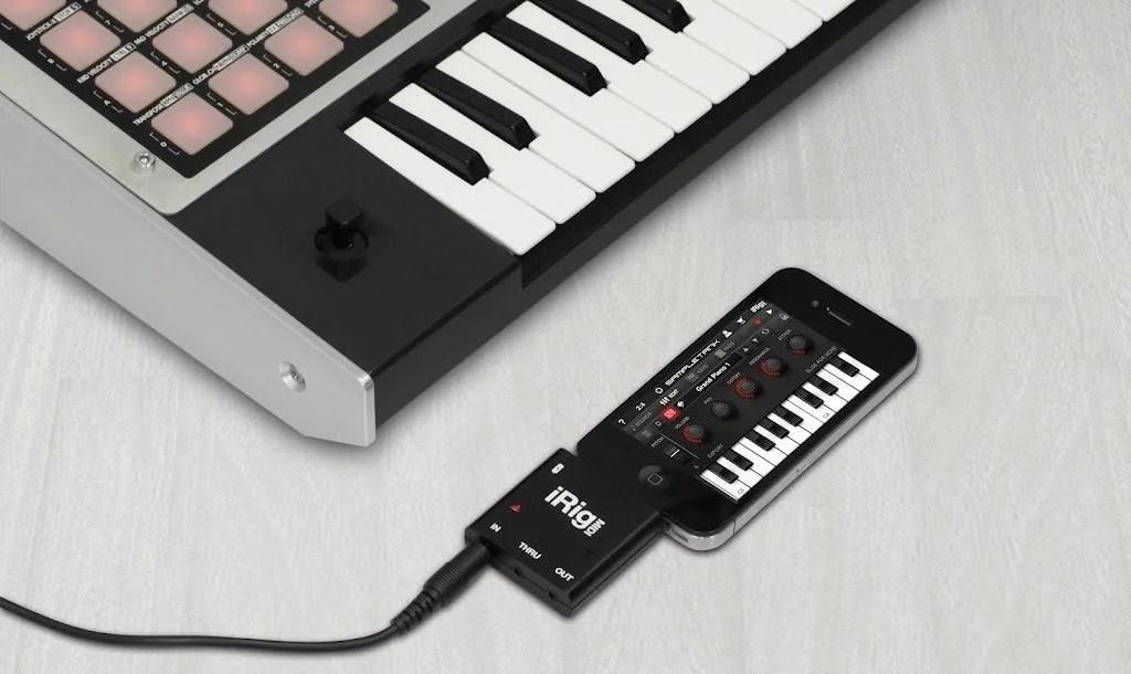 iRig MIDI Review – Connecting MIDI Equipment to the iPad