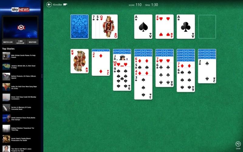 Windows 8 app multitasking