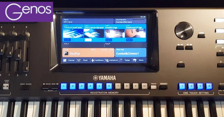 The Yamaha Club Probe Genos Backwards Compatibility with