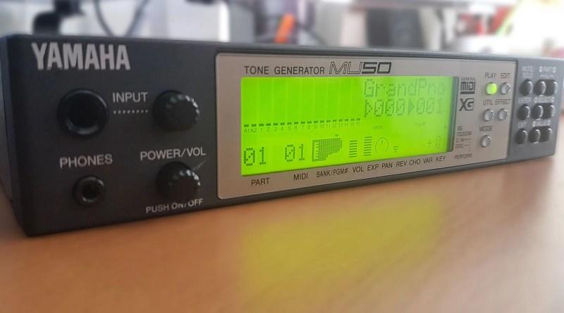 Yamaha MU50 Tone Generator