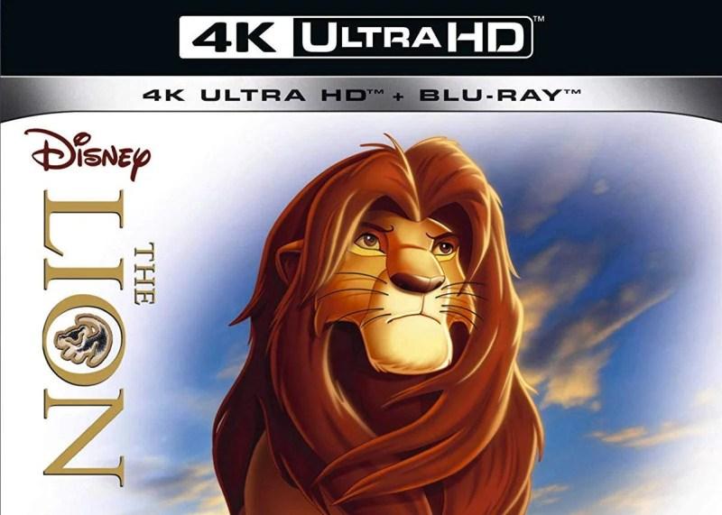 Lion King 4K Blu-ray