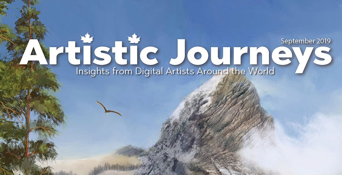 Artistic Journeys is an online publication that explores creative individuals lives as they create art that impacts the viewer. Promo for the beginning of September
