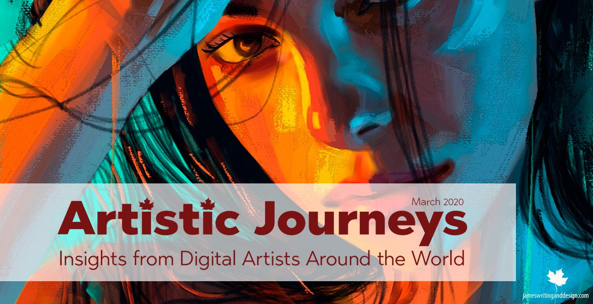 Artistic Journeys is an online publication that explores the lives of creative individuals as they share their experiences. March features Corel Painter Master Michelle Webb.