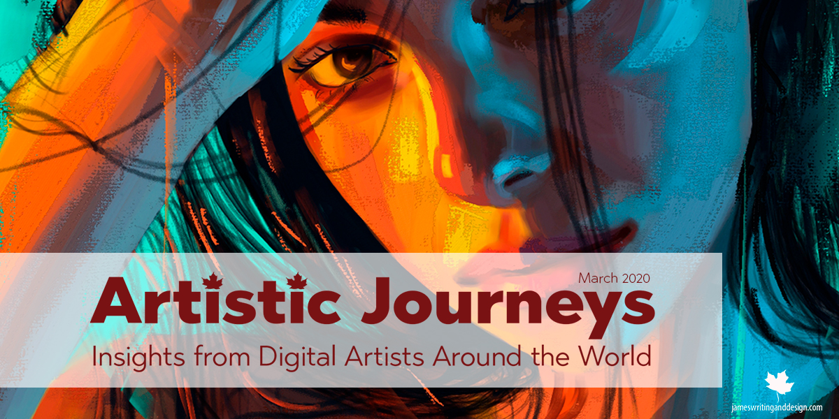 Artistic Journeys – March – Michelle Webb