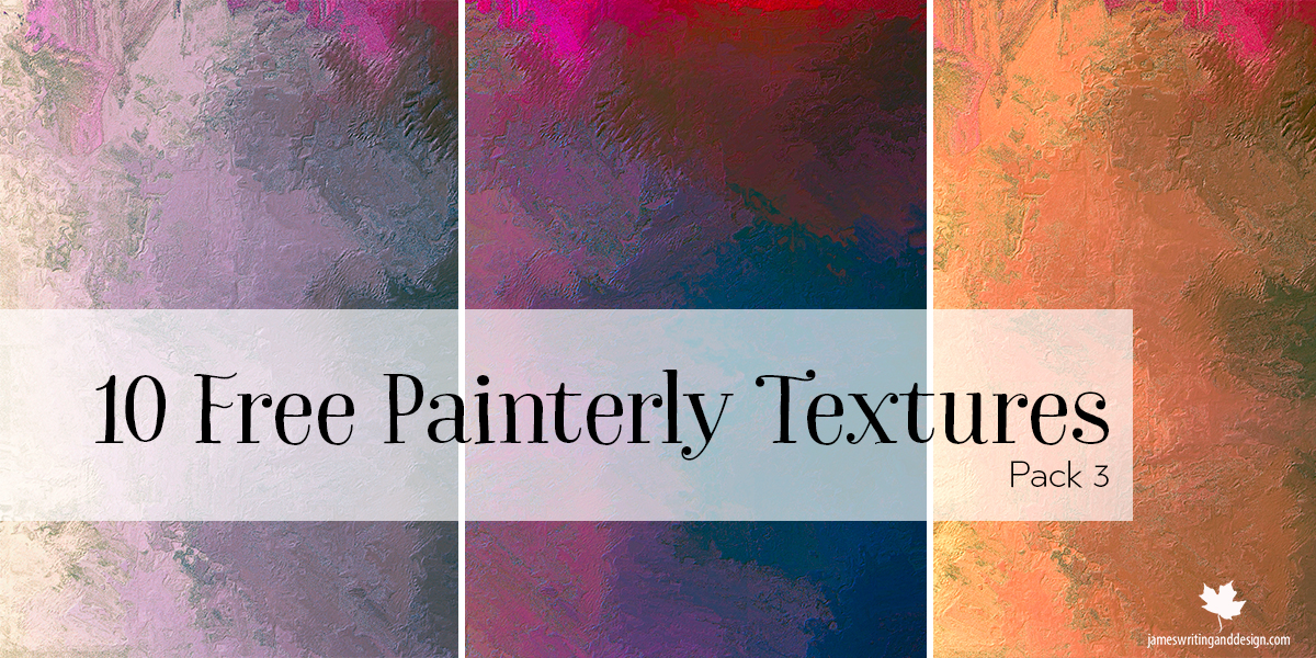 10 Free Painterly Textures Pack 3