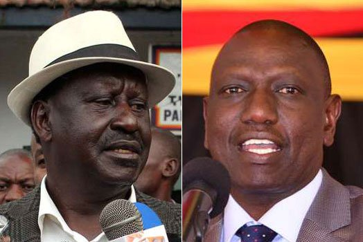 Ruto brands Raila 'master of violence', NASA supporters offended