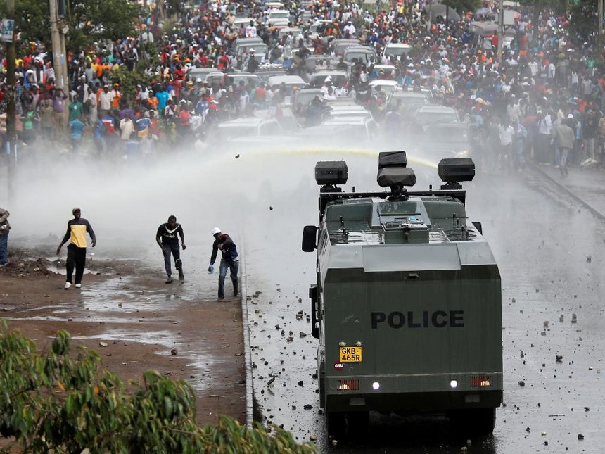 Koome: Expect 'heavy and big' police deployment during Supreme Court ruling
