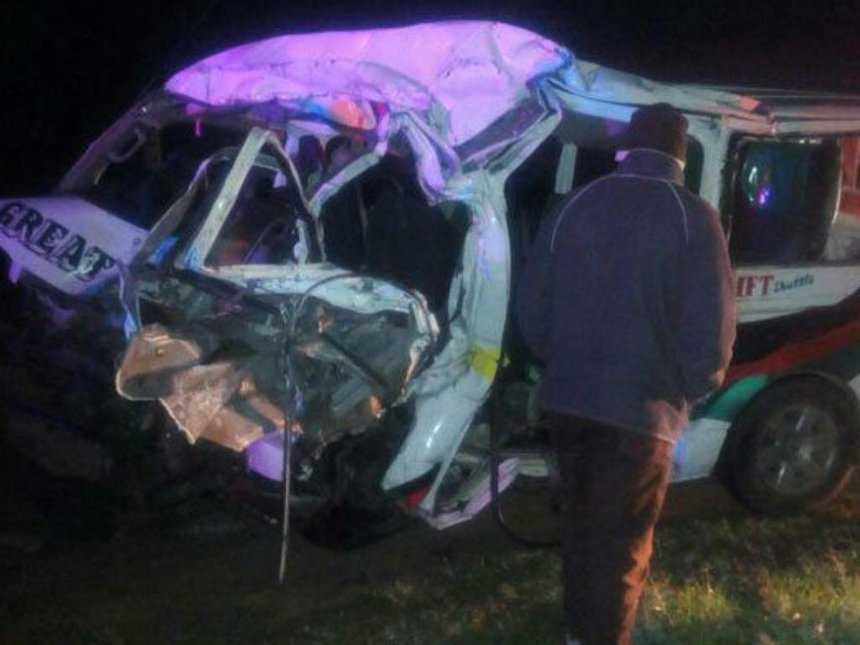 12 perish in Salgaa road accident