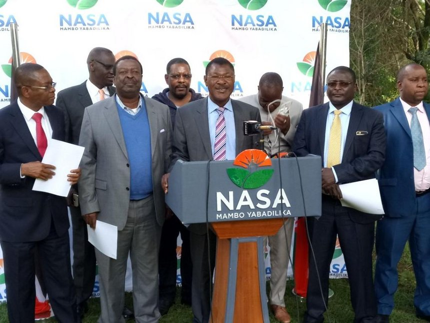 """NASA calls off Raila swearing-in after """"extensive consultations"""""""