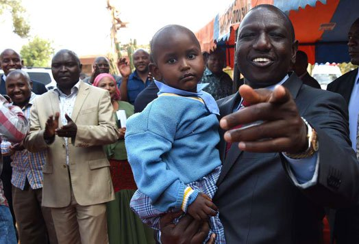 [VIDEO] Ruto's adopted last born daughter awes Kenyans with her sharpness