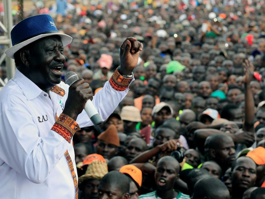 Raila ready to be charged with treason as long as Uhuru doesn't reach out to him