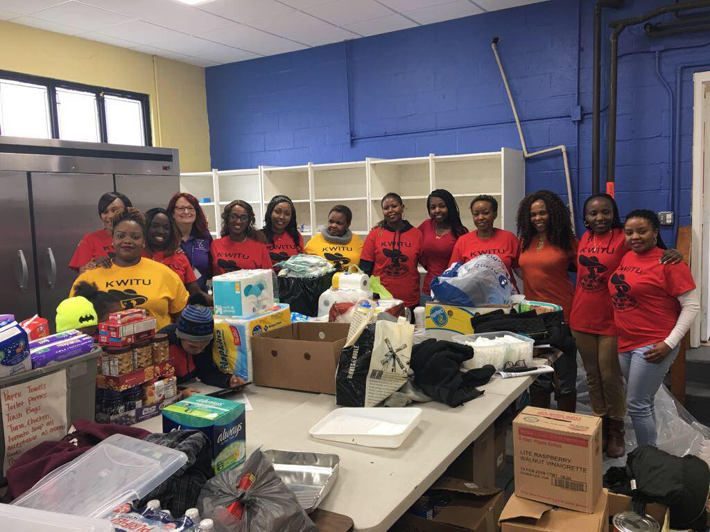 KWITU (New England Chapter) Holds a Shelter Drive in Massachusetts