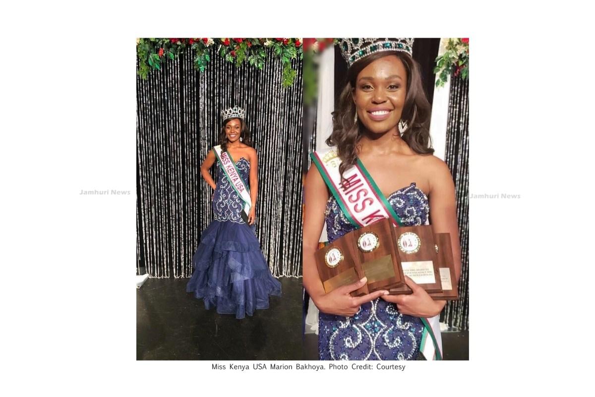Marion Bakhoya from New York crowned Miss Kenya USA 2018