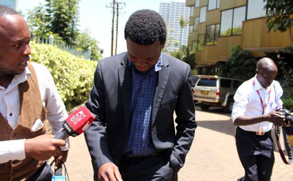 Briton jailed for IEBC 'Chickengate' scandal walks to freedom