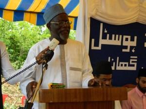 Molvi Noor Mohammad Bin Salih Ameer Jamaat Ahmadiyya Ghana