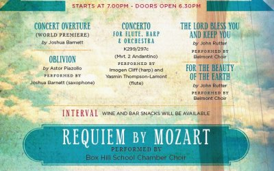 Mozart Requiem – 15th June